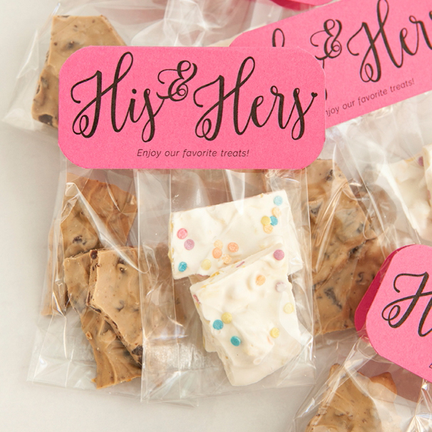 Check out these diy his hers chocolate bark favors solutioingenieria Gallery