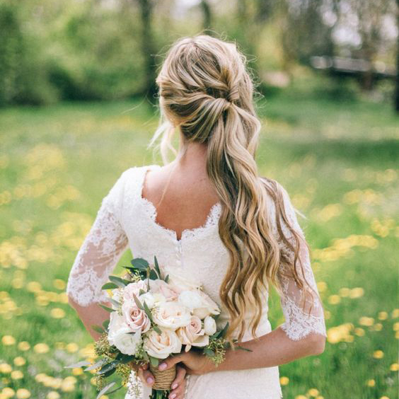 Side Wedding Hairstyles: The BEST Wedding Hair Tips For Wearing A Side Ponytail