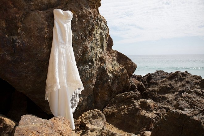 We LOVE this dress shot by the beach! So darling!