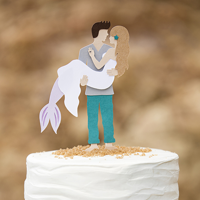 How To Put A Cake Topper On