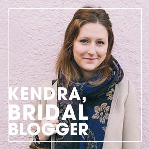 Kendra Hagerman, bridal blogger for Something Turquoise