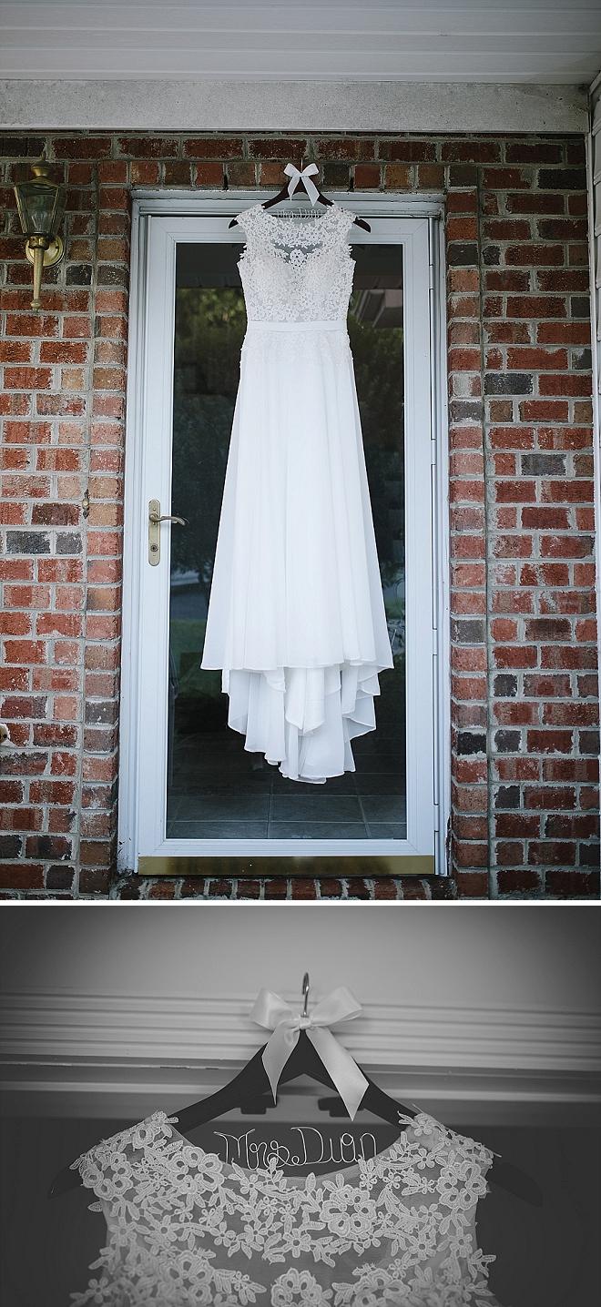 Stunning dress shot at this stunning garden wedding!