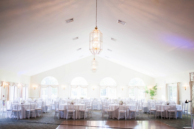 Stunning reception for this darling couple and their classic wedding!
