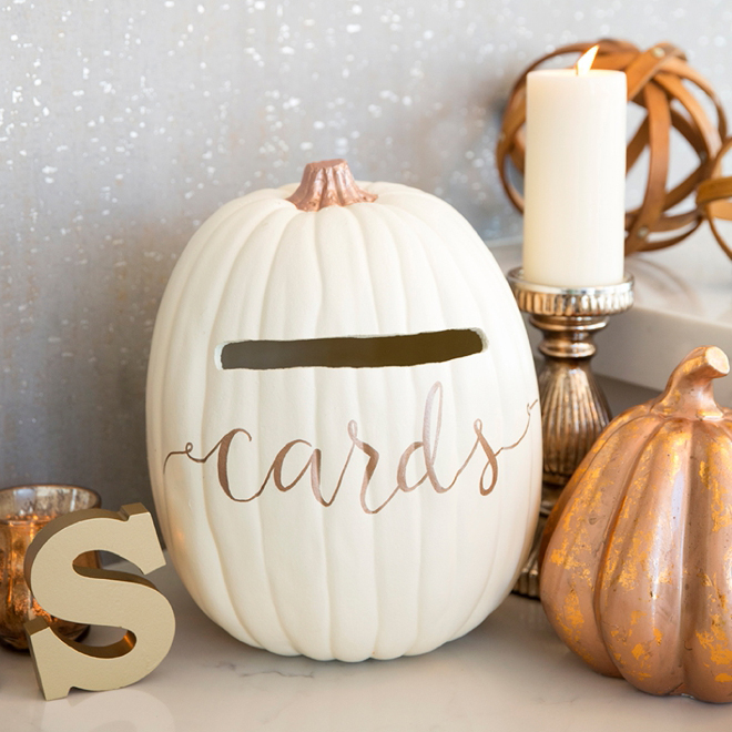 This Wedding Card Box Is A Must For Your Fall Wedding