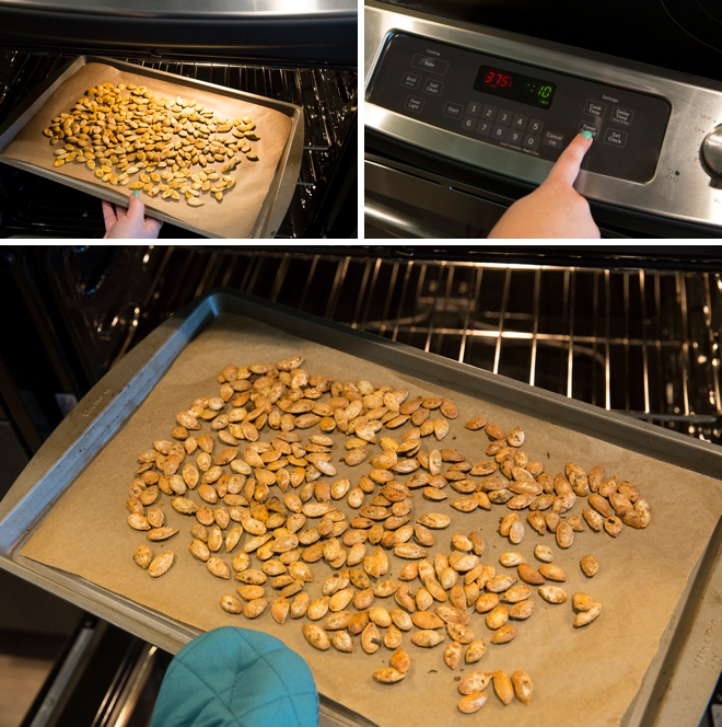 Super delicious and totally easy recipes for toasting pumpkin seeds!