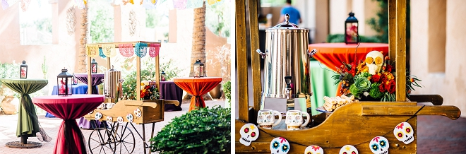 We are in LOVE with this stunning styled Day of the Dead wedding shoot!