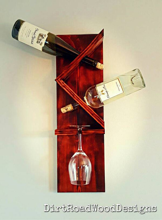 Awesome wine rack gift idea from etsy!