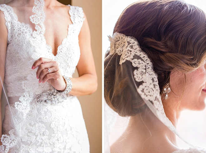Gorgeous details of this stunning Bride getting ready!