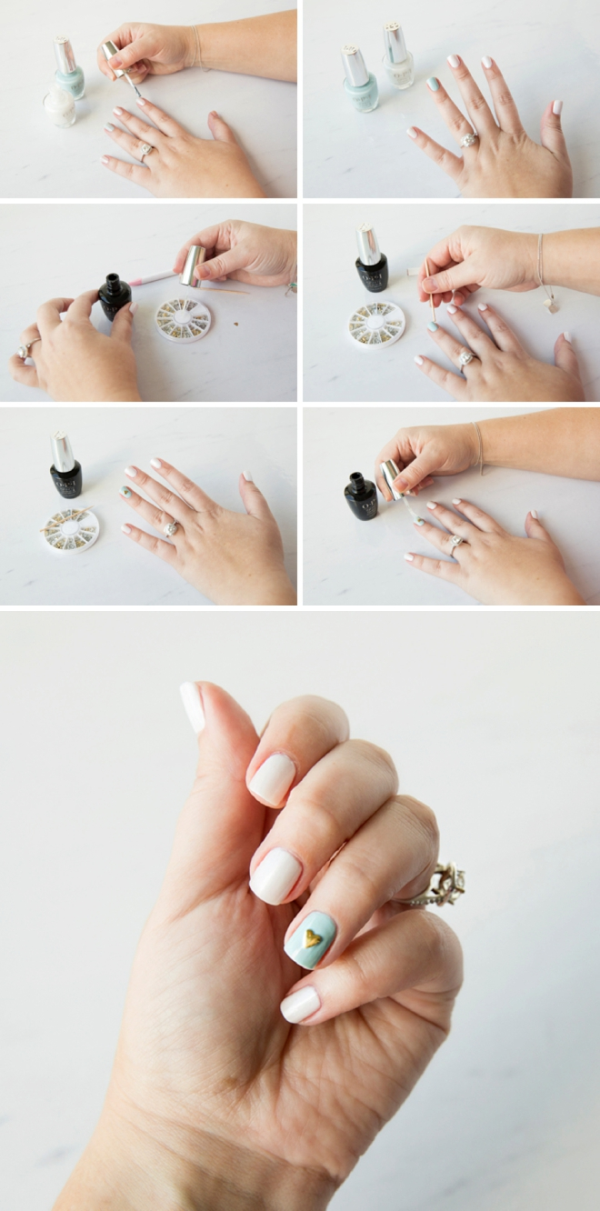5 Awesome DIY Wedding Manicure Ideas You Have To See!