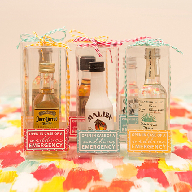 Adorable Diy In Case Of Emergency Mini Alcohol Gifts