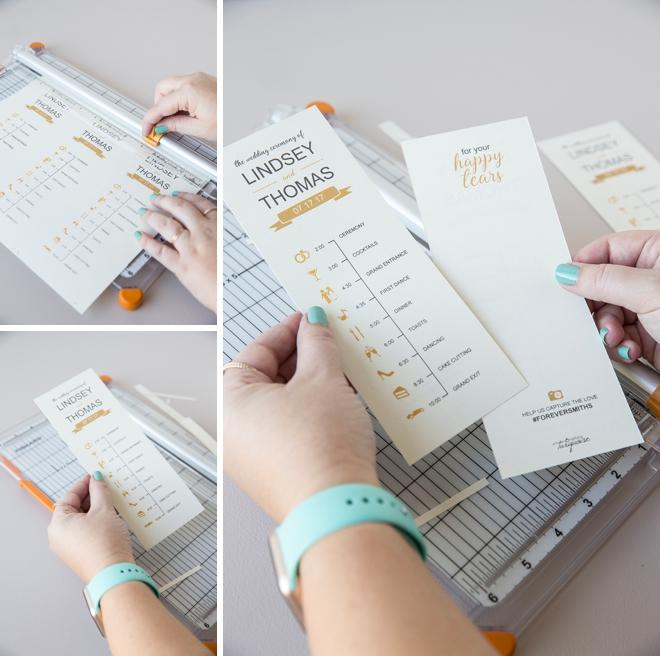 Edit + Print This FREE, Darling Wedding Timeline Program