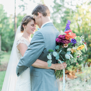 We LOVE this dreamy wedding!