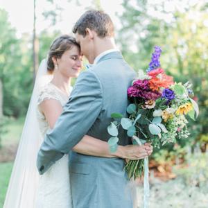 We LOVE this dreamy wedding!