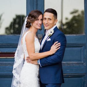 We love this stunning DIY St. Louis wedding!