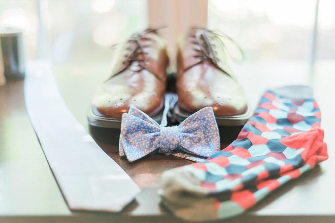 We love this Groom's wedding day wear!