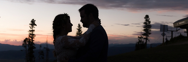 Swoon! This couple's Denver wedding is one of our favorites!