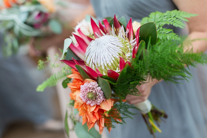 We're in LOVE with this Bride's stunning bouquet!