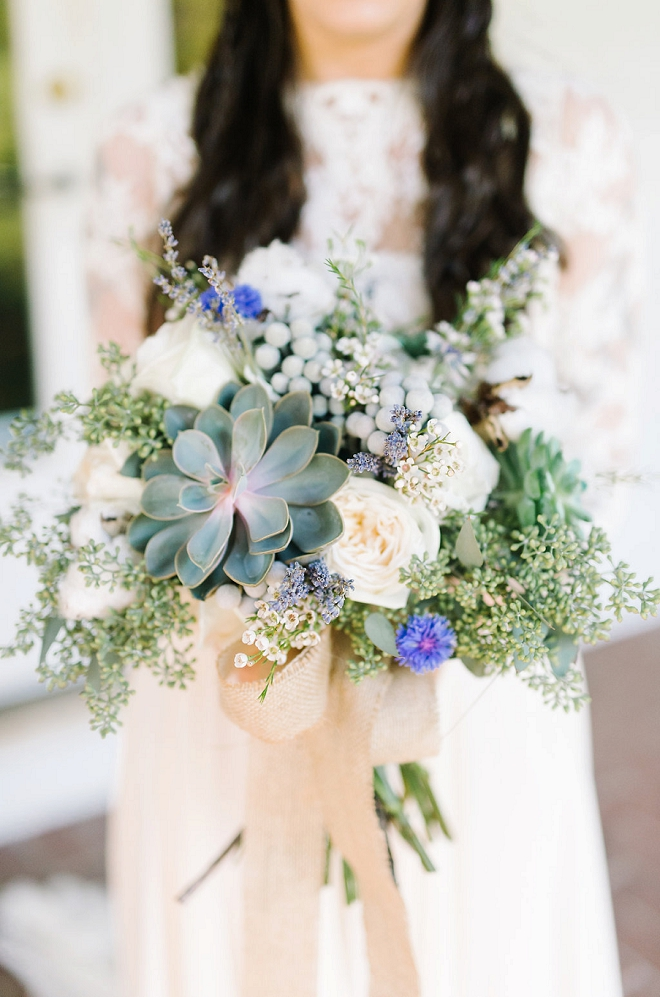 This bouquet is super boho and amazing! We love it and you will too!