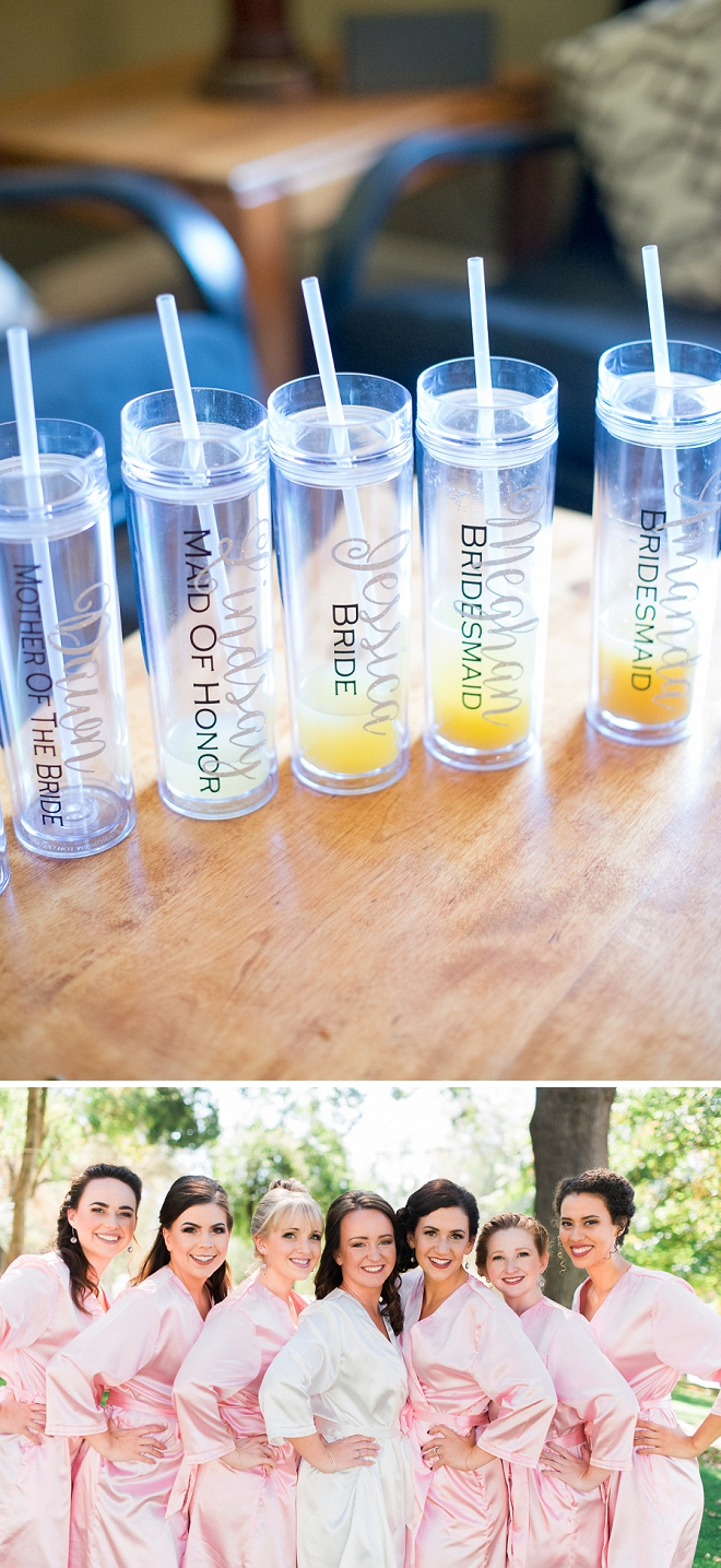 How amazing did the Bride do on these fun Bridesmaid gifts?!