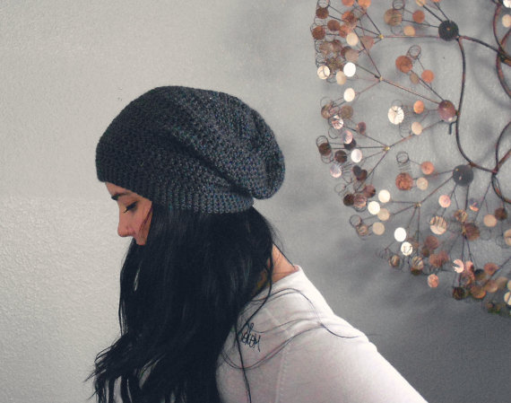 We love this unisex slouch beanie!