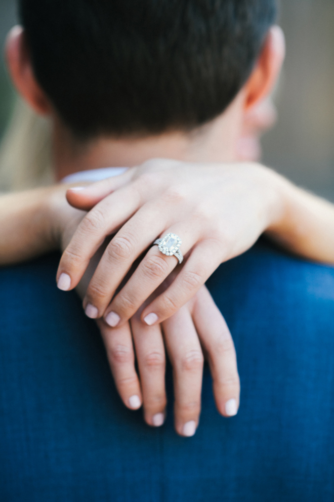 Must have engagement shot: the ring