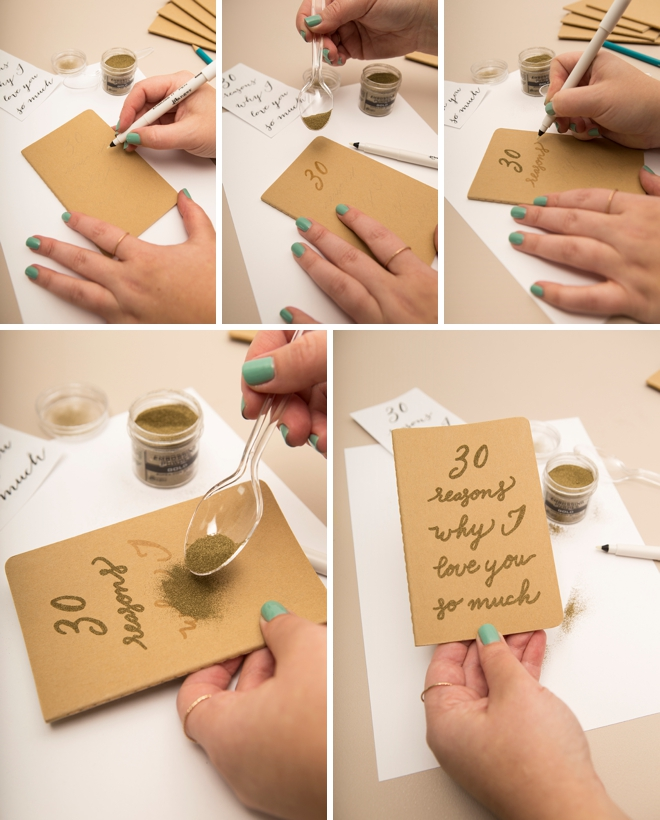 Create your own custom Why I Want To Marry You journals!