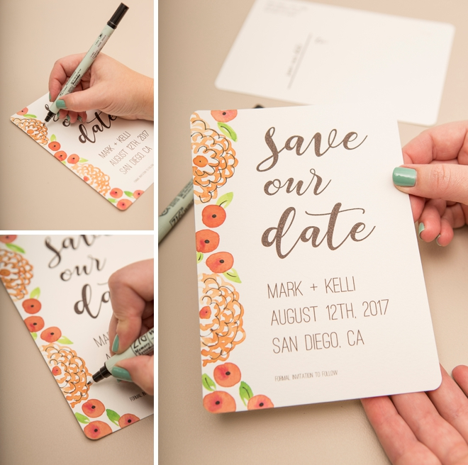 picture relating to Free Printable Save the Date identified as Observe Out Individuals Cute No cost Printable Help save the Day Postcards!