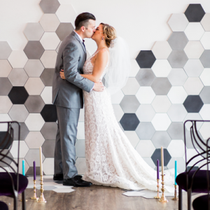 We love this stunning jewel tone styled wedding shoot!