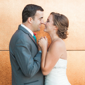 We're in LOVE with this romantic loft wedding!