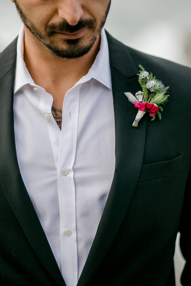 This handsome Groom before the big day!