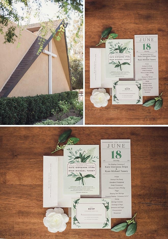 Check out this couple's stunning hand designed wedding invitations!