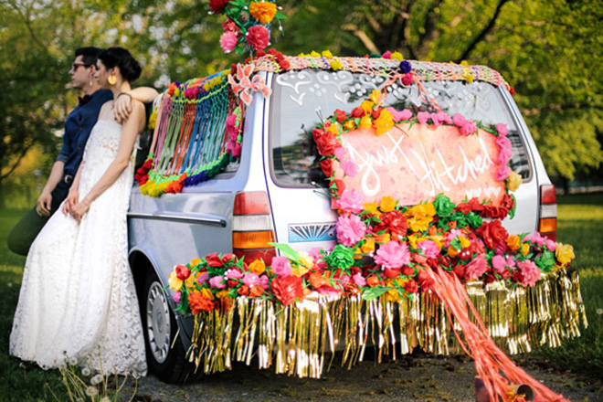 Yes to this boho getaway car.