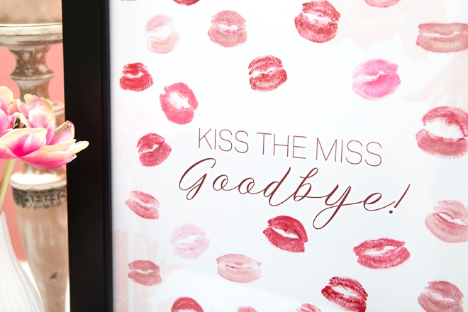 image relating to Guess How Many Kisses for the Soon to Be Mrs Free Printable called Free of charge, Printable \