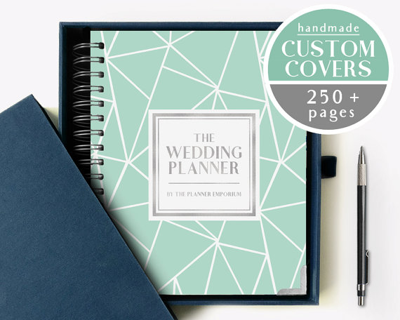 This wedding planner is a MUST have for a new bride!