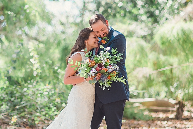 We're LOVING this couples uber romantic first look!