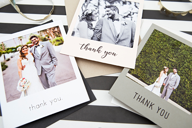 Check Out These Adorable Diy Polaroid Photo Thank You Cards
