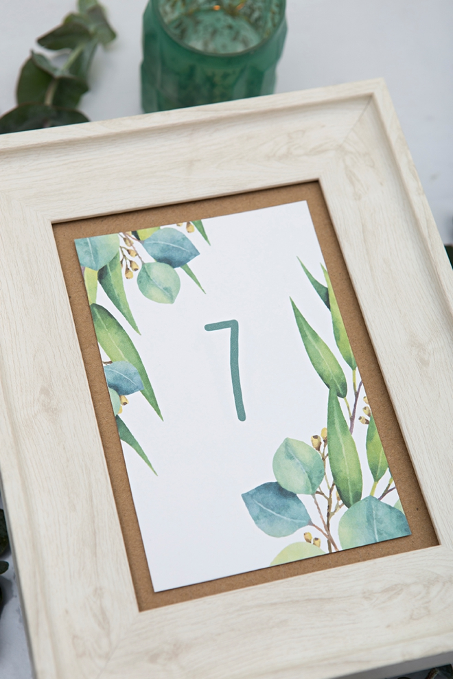 This is a photo of Clean Free Printable Table Numbers 1-20