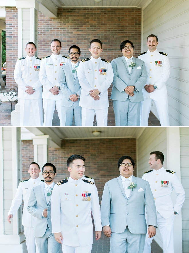 The handsome Groom + Groomsmen before the big day!