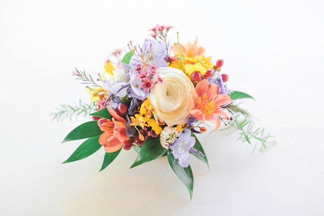 We are in LOVE with this bright bouquet - perfect for Spring!