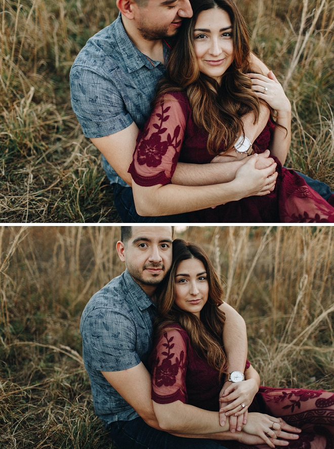 How stunning is our new Bridal Blogger's romantic engagement session?! We're in LOVE!