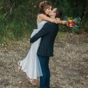 We're in LOVE with this uber dreamy handmade wedding!