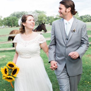You're going to LOVE this super sweet and crafty wedding!
