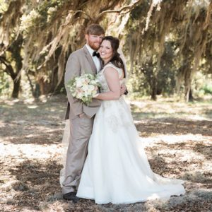 We're crushing on this super darling wedding on the blog now!