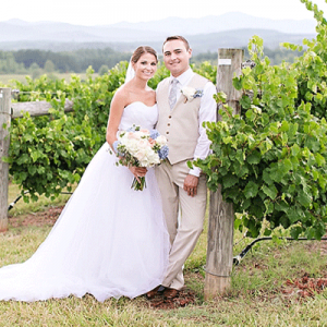 Crushing on this darling couple + their stunning wedding on the blog now!