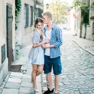 Gorgeous engagement shoot shot by Snowdrop Photography