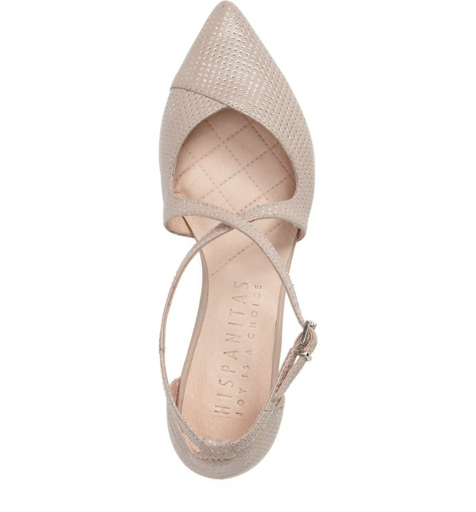 These flats would look so good with a wedding dress! You could also wear them after the wedding all the time!