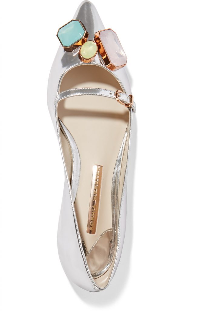 Sophia webster wedding flats.  So cute!
