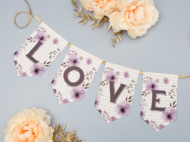 you have to see this darling printable iron on banner idea