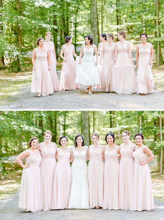 Great snap of the Bride and her Bridesmaid's before the ceremony!