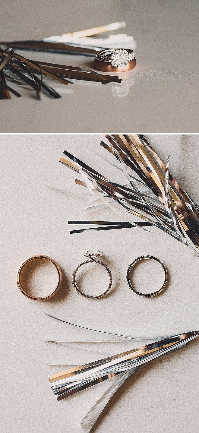 Crushing on this metallic filled ring shot! LOVE!